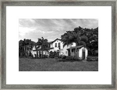 1926 Northern Italian Renaissance Estate - 56 Framed Print