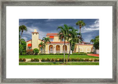1926 Northern Italian Style Home - 49 Framed Print