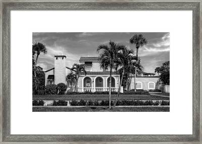 1926 Northern Italian Style Home - 50 Framed Print