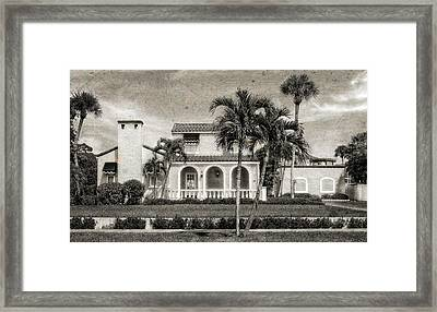 1926 Northern Italian Style Home - 51 Framed Print