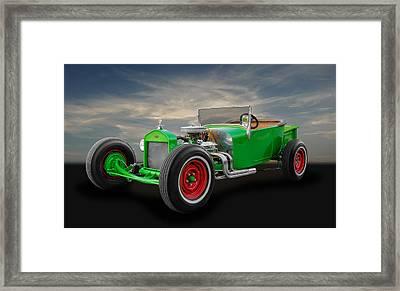 1927 Ford Model T Roadster Framed Print by Frank J Benz