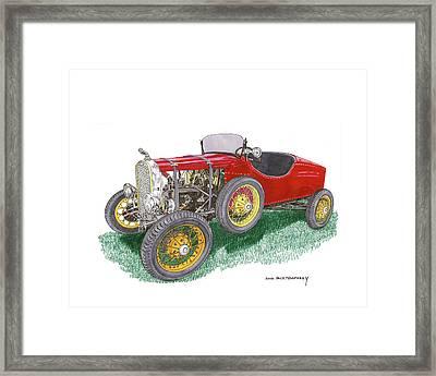 1927 Ford Model T Speedster Framed Print