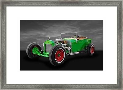 1927 Ford T Model Roadster Framed Print by Frank J Benz