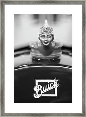 1928 Buick Custom Speedster Hood Ornament 4 Framed Print by Jill Reger