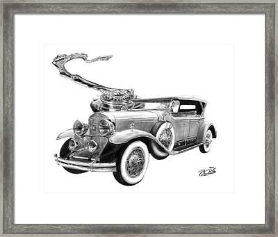 1929 Cadillac  Framed Print