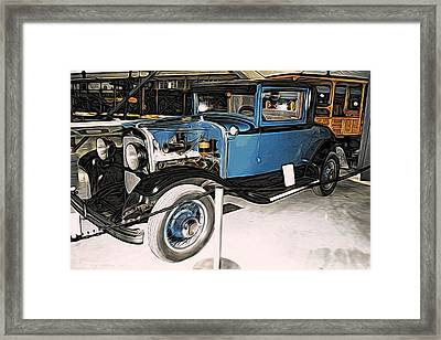 1929 Chrysler Model 65 Coupe Framed Print by CJ Anderson