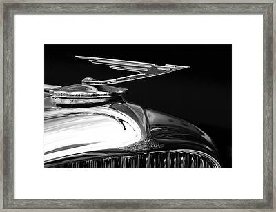 1929 Duesenberg Model J Hood Ornament 2 Framed Print by Jill Reger