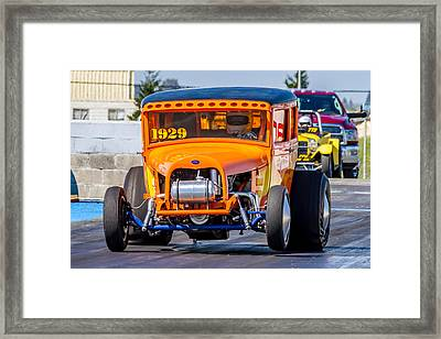 1929 Ford Framed Print by Bill Gallagher