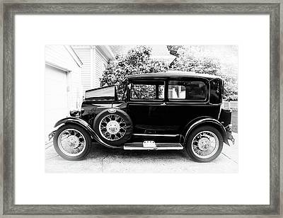 1929 Ford Model A By Earl's Photography Framed Print