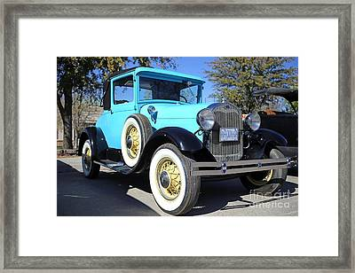 1929 Ford Model A Coupe Framed Print by Blaine Nelson