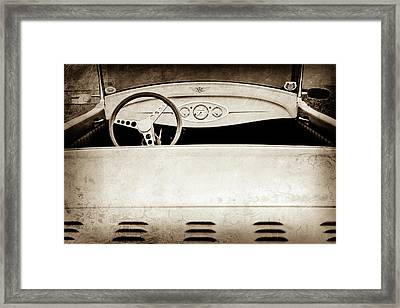 1929 Ford Model A Roadster -0040s Framed Print