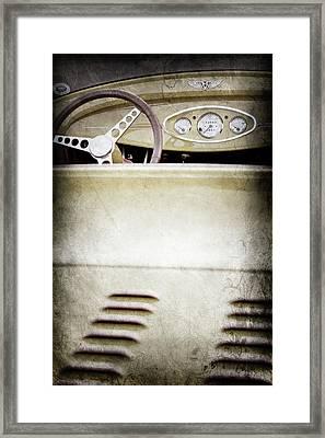 1929 Ford Model A Roadster -0043ac Framed Print