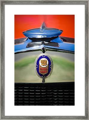 1929 Graham-paige Sport Roadster Emblem -0810c Framed Print