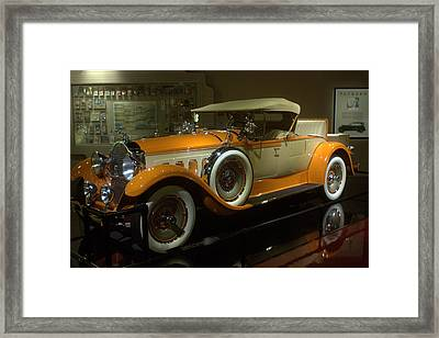 1929 Packard Framed Print