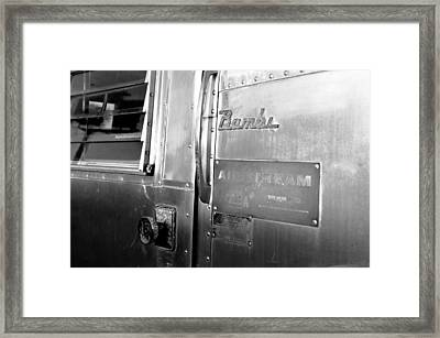 1930 Bambi Travel Trailer Framed Print by David Lee Thompson