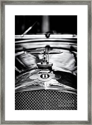 1930 Bentley Framed Print by Tim Gainey