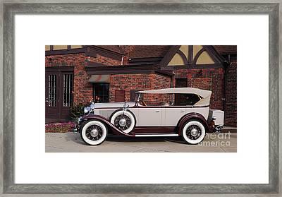 1930 Buick Phaeton Framed Print