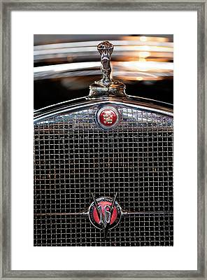 1930 Cadillac Roadster Hood Ornament 3 Framed Print by Jill Reger