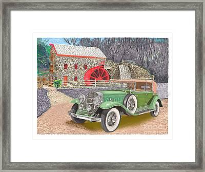 1930 Cadillac V-16 Framed Print