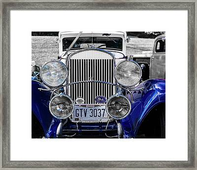 1930 Chryaler 70 Coupe Framed Print by Jack R Perry
