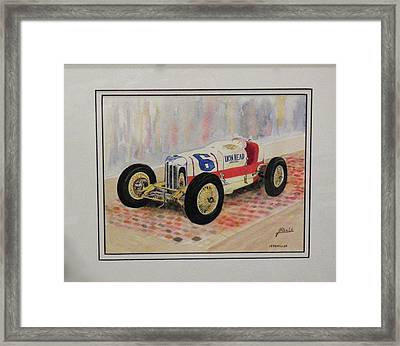 1930 Miller Framed Print by Jim Reale