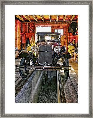 1930 Model T Ford Framed Print