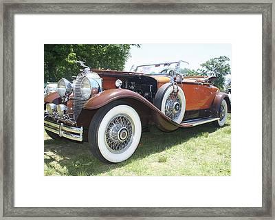 1930 Packard Convertible Roadster Framed Print by John Telfer