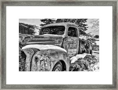 1930's Ford One Ton Framed Print