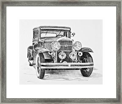 1931 Buick Framed Print by Daniel Storm