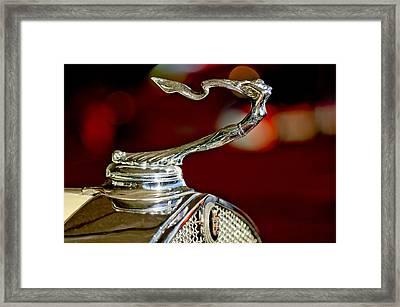 1931 Cadillac 355 A Roadster Hood Ornament Framed Print