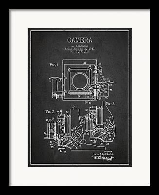 Release Drawings Framed Prints