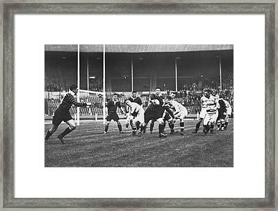 1931 Challenge Cup At Wembley Framed Print