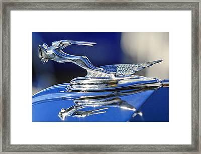 1931 Chrysler Imperial Cg Roadster Framed Print by Jill Reger