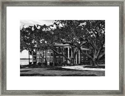 1931 Florida Waterfront Home - 2 Framed Print by Frank J Benz