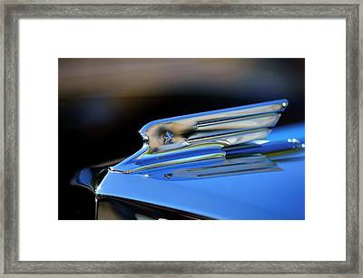 1931 Marmon Sixteen Coupe Hood Ornament 2 Framed Print