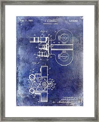 1931 Movie Camera Patent Framed Print