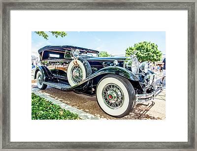 1931 Packard Framed Print
