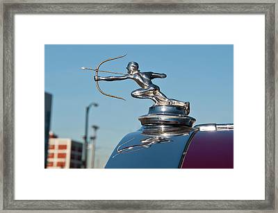 1931 Pierce Arrow 3471 Framed Print by Guy Whiteley