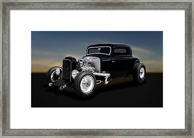 1932 Ford Coupe - The Deuce   -   32deuce11 Framed Print