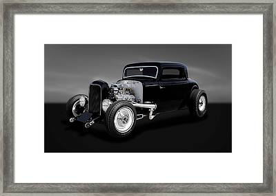 1932 Ford Coupe - The Deuce   -   32deuce22 Framed Print