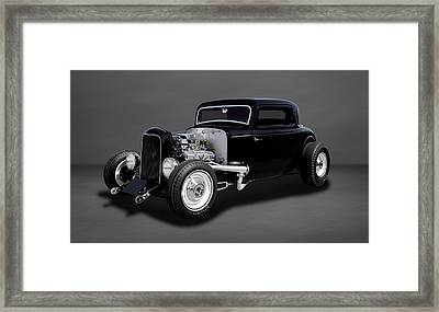 1932 Ford Coupe - The Deuce   -   32deuce33 Framed Print