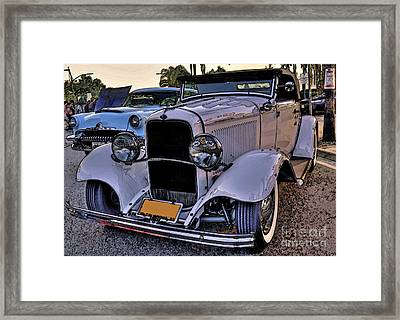 1932 Ford Deuce Framed Print