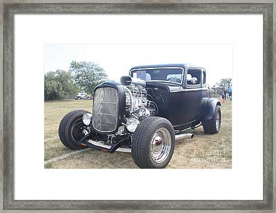 1932 Ford Muscle Car Coupe Framed Print by John Telfer