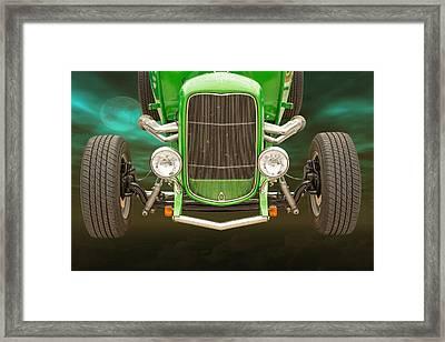 1932 Ford Roadster Color Photographs And Fine Art Prints 001.02 Framed Print by M K  Miller