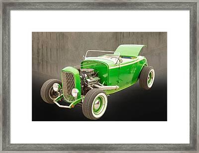 1932 Ford Roadster Color Photographs And Fine Art Prints 005.02 Framed Print by M K  Miller