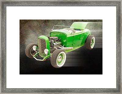 1932 Ford Roadster Color Photographs And Fine Art Prints 007.02 Framed Print by M K  Miller