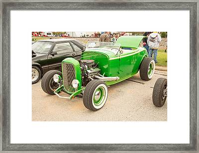 1932 Ford Roadster Color Photographs And Fine Art Prints 009.02 Framed Print by M K  Miller