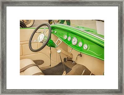 1932 Ford Roadster Color Photographs And Fine Art Prints 012.02 Framed Print by M K  Miller