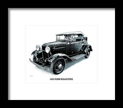 1932 Ford Framed Prints