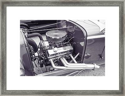 1932 Ford Roadster Sepia Posters And Prints 023.01 Framed Print by M K  Miller